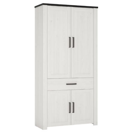 Provence Wardrobe/Cupboard 1 drawer 4 doors